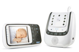 Video Babyphone mit Kamera Nuk Eco Control